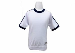 半袖シャツ2本ライン(紺) 体操服